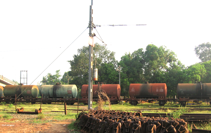 Preliminary study and preparation of Feasibility Report (FR) for the Full gantry length Tank wagon loading Railway siding at Bharath Petroleum Corporation Limited, Irumpanam, Ernakulam, Kerala in association with BARSYL-img