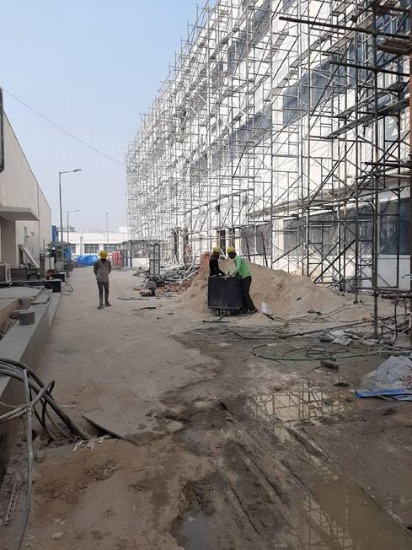 Construction /Retrofitting of structure , Architecture & MEP work, of a biggest  R&D center of a major  multinational company India-img